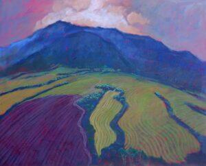 Miroslav-Bucher-–-Portrét-zeme-–-Proti-svetlu-olejomaľba-na-plátne-sucasne-umenie