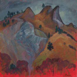 Miroslav-Bucher-–-Portrét-zeme-–-Skaly-2-olejomaľba-na-plátne-krajinomalba