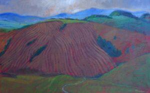 Miroslav-Bucher-Portrét-zeme-Štruktúry-olejomaľba-na-plátne-predaj-obrazov