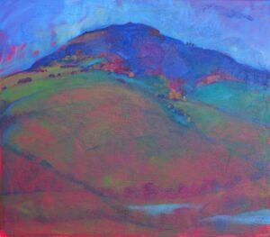 Miroslav-Bucher-Portrét-zeme-Podvečer-olejomaľba-na-plátne-umelecka-galeria