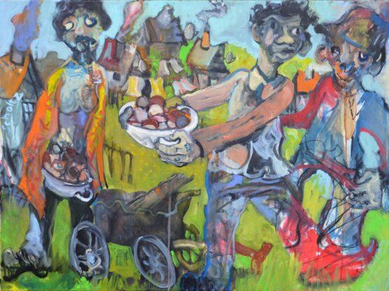 Dušan-Scholtz-Telgárt-olejomaľba-na-plátne-predajna-galeria