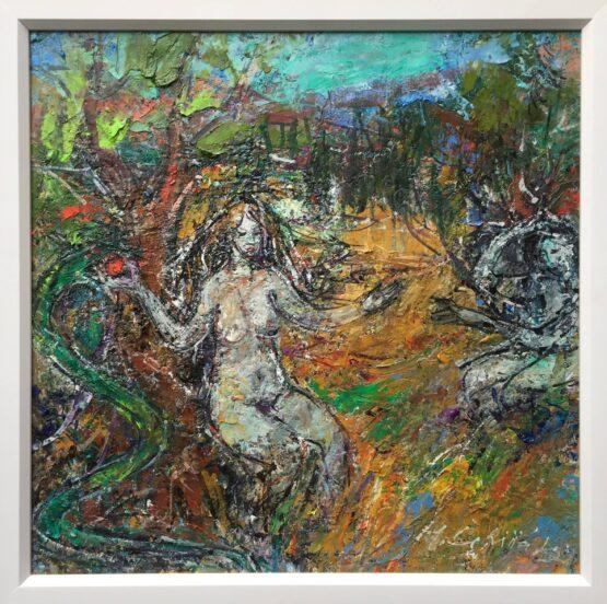 Hubert-Čepiššák-Vtedy-v-Edene-olejomaľba-na-plátne-dielo