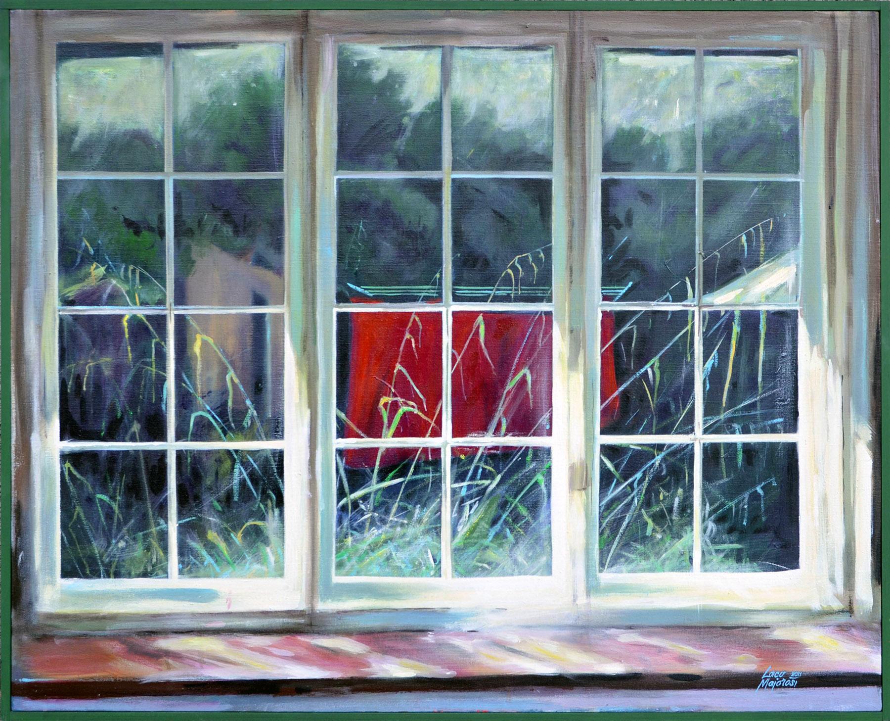 Ladislav Majoroši – Painswick 14:00 hod., akryl na plátne, 2011