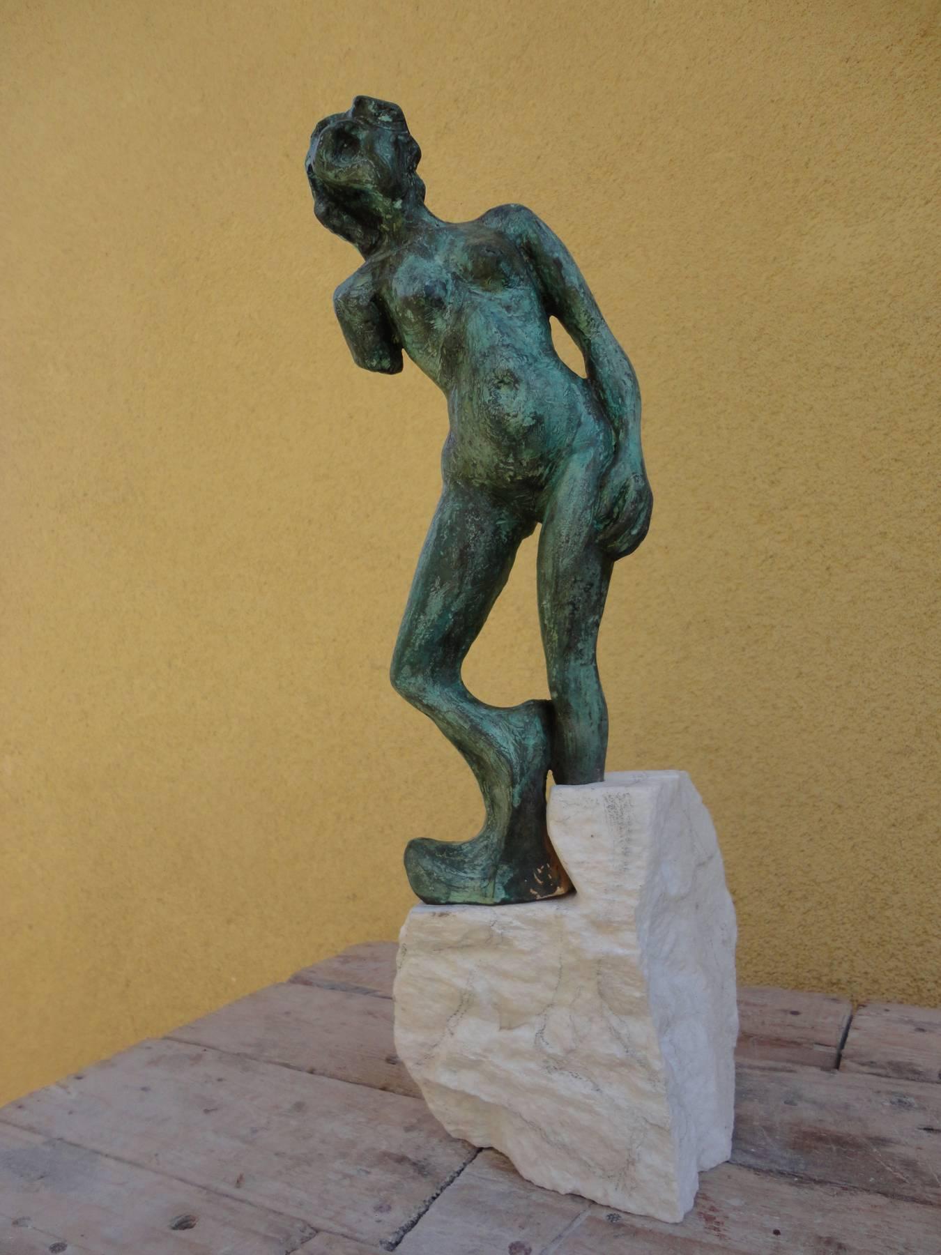 Marek Betka – Torzo, bronz, mramor, 38 cm