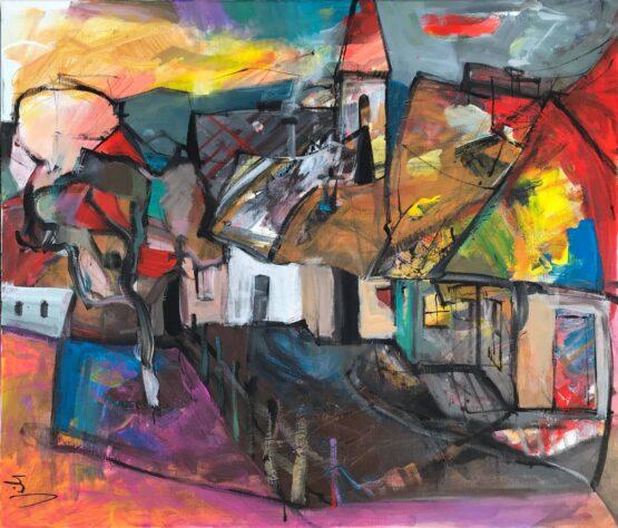 Jonsy-Gáll-Ráno-akryl-na-plátne-predajna-galeria