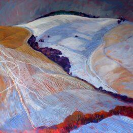 Miroslav-Bucher-Portrét-Zeme-Maľovaná-grafika-olejomaľba-na-plátne-predajna-galeria