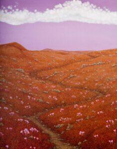 Peter-Šoltó-Cesta-za-horizont-olejomaľba-na-plátne-predaj-obrazov