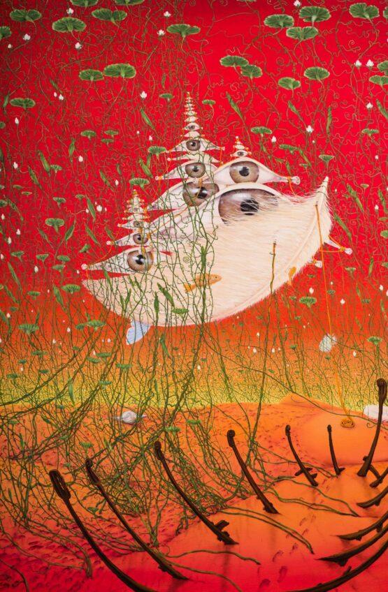 Peter-Šoltó-Nekonečné-znovuobjavovanie-olejomaľba-na-plátne-predajna-galeria