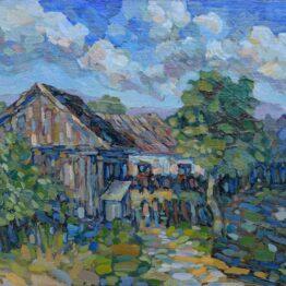 David-Eperjesi-Návraty-domov-3-olejomaľba-plátno-na-sololite-krajinomalba