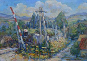 David-Eperjesi-Odišiel-olejomaľba-plátno-na-sololite-predajna-galeria