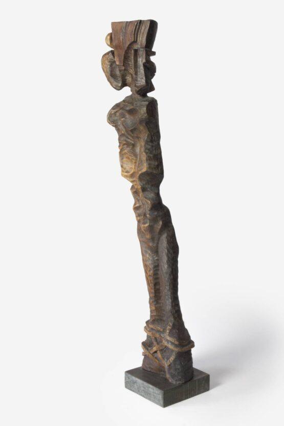 Peter-Klimek-Otrok-brest-morené-drevo-komorne-socharstvo