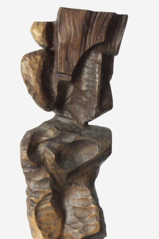Peter-Klimek-Otrok-brest-morené-drevo-slovensky-umelec