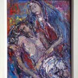 Hubert-Čepiššák-Čas-bolesti-olejomaľba-na-plátne-predajna-galeria