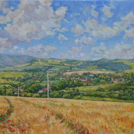 David-Eperjesi-Sedlice-olejomaľba-na-plátne-predaj-umenia