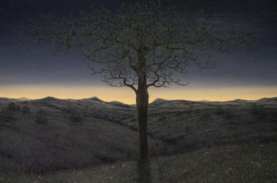 Peter-Šoltó-Ahoj-slnko-olejomaľba-na-plátne-slovensky-maliar