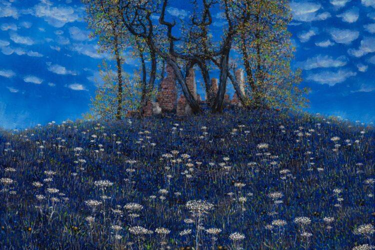 Peter-Šoltó-Nebo-na-zemi-olejomaľba-na-plátne-predaj-obrazov