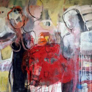Miroslav-Kotora-Emancipácia-akryl-na-plátne-slovenske-umenie