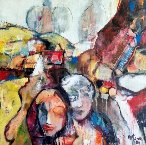 Miroslav-Kotora-Kostolianska-zmrzlina-2-akryl-na-plátne-figuralna-malba
