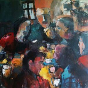 Miroslav-Kotora-U-Hrocha-akryl-na-plátne-vytvarne-umenie