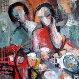 Miroslav-Kotora-U-Pinkasú-akryl-na-plátne-slovensky-maliar